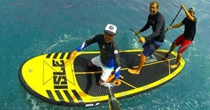 Reviewing Isle Tandem 15 ft Inflatable Stand Up Paddle Board