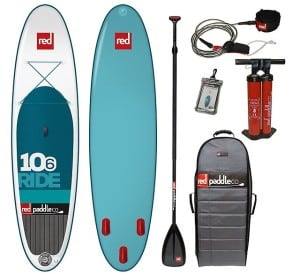 Red Paddle Co 10 6 Ride Inflatable Stand Up Paddle Board Review