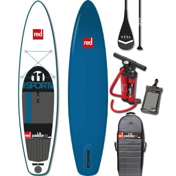 2016 red paddle co 11 sport inflatable SUP Board Review