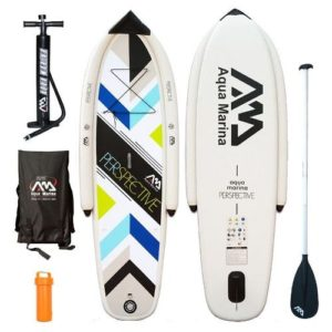 Aqua Marina Perspective 2016 inflatable Stand Up Paddle Board Review