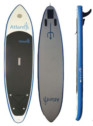 """Atlantis 10'6"""" Inflatable SUP Board Review"""