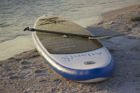 """Atlantis 10'6"""" inflatable Stand Up Paddle Board Review"""