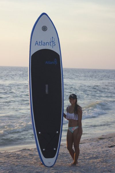 Atlantis inflatable SUP Board Review