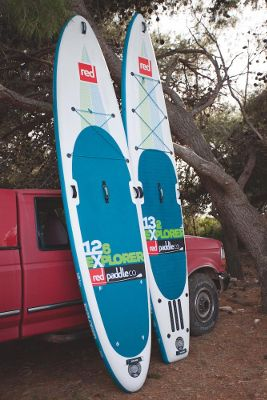 """RED PADDLE CO 12'6"""" Explorer Inflatable SUP Board Review"""