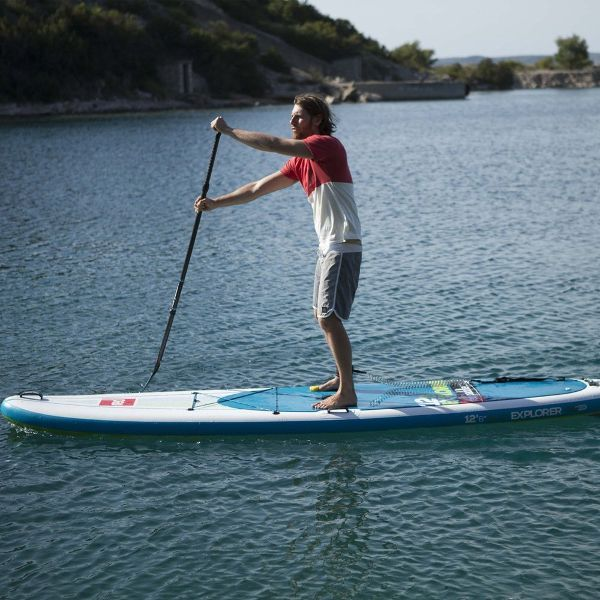 """Red Paddle Co 12'6"""" Explorer Inflatable SUP Board"""