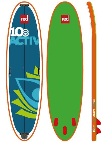 Red Paddle Co ACTIV inflatable SUP Board Review