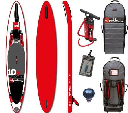 Red Paddle Co Max Race inflatable SUP Review