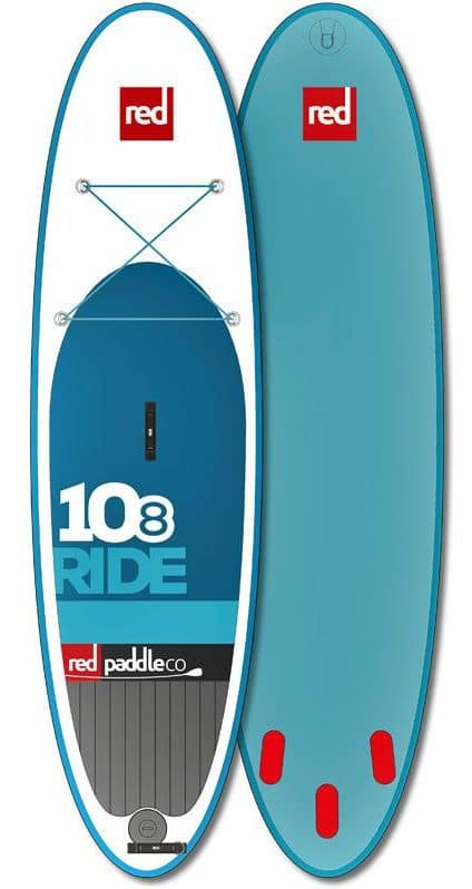 Red Paddle Co RIDE 10ft 8in inflatable SUP Board Review