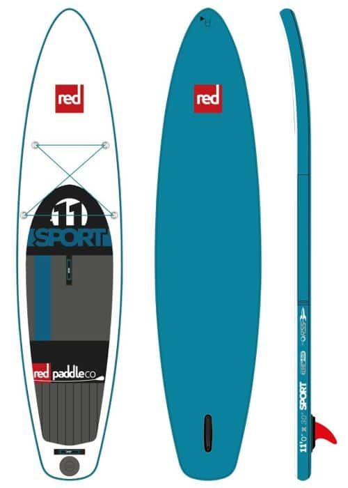 Red Paddle Co SPORT 11' inflatable SUP Board Review