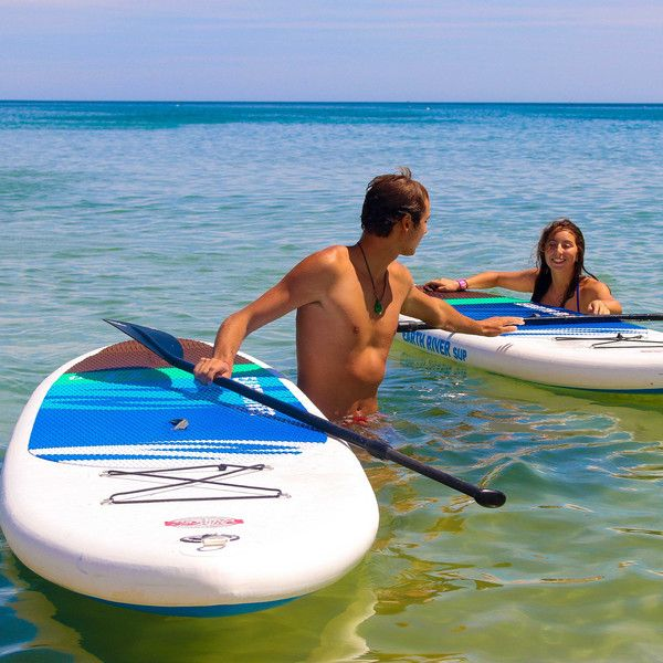 "earth river 12'6"" inflatable SUP Board"