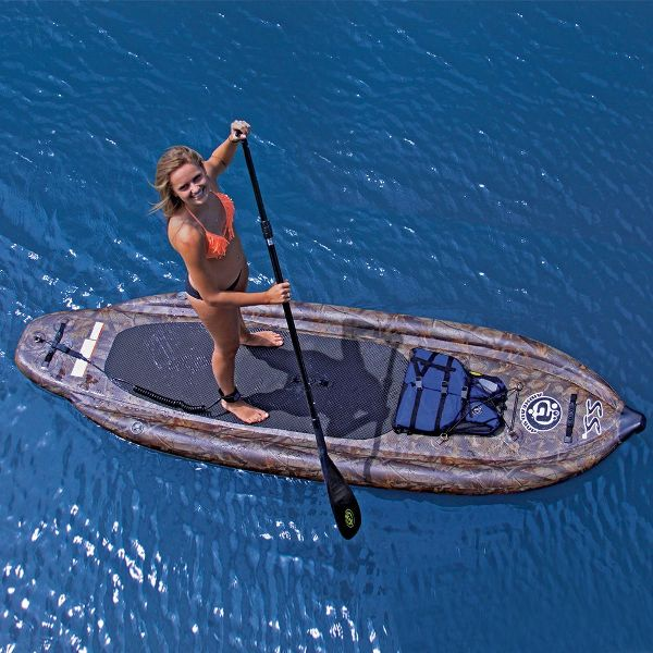 Airhead AHSUP-3 SUP SS Camouflage inflatable stand up paddle board Review