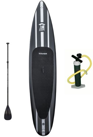 "Tower Paddle Boards iRace 12'6"" Inflatable SUP Boad Review"