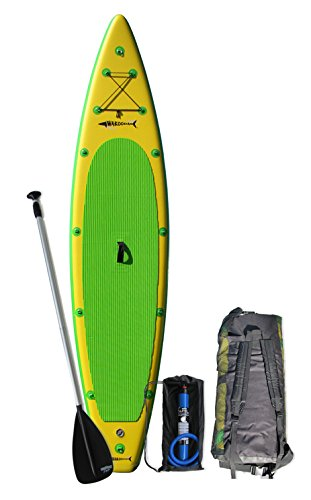 Wakooda GT150 inflatable stand up paddle board Review