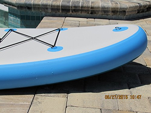 Wakooda LA132 inflatable stand up paddle board review