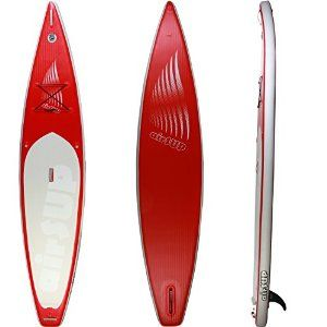 """airSUP 12'6"""" inflatable stand up paddle board review"""