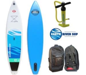 "earth river 12'6"" inflatable SUP Boad Review"