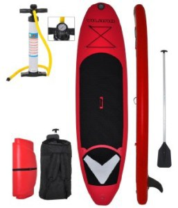 Vilano Voyager 11 6 Thick Inflatable SUP Stand Up Paddle Board Package