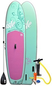 Isle 10 ft 4 inch Women's Inflatable Stand Up Paddle Board