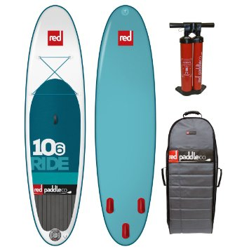 "Red Paddle Co 10'6"" Ride Inflatable Stand Up Paddle Board"
