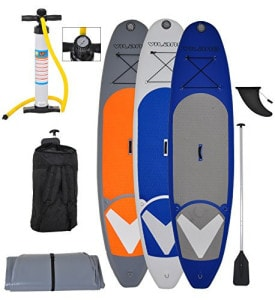 Vilano Navigator 10 inflatable stand up paddle board