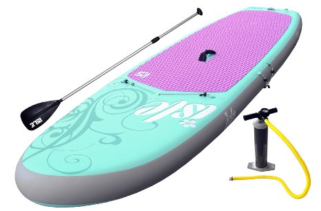 ISLE Airtech 10'4 Yoga Inflatable SUP board review 2
