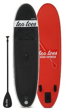 Ten Toes theWEEKENDER Inflatable Standup Paddleboard Review