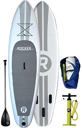 white iRocker 10' Inflatable SUP board review