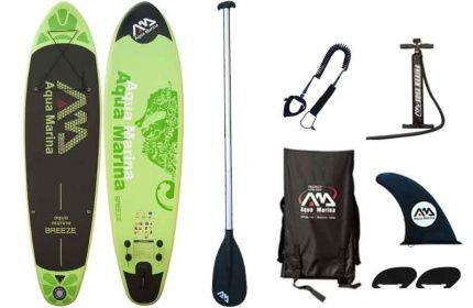 Aqua Marina Breeze 9 ft 9 inches Stand Up Paddle Board Review