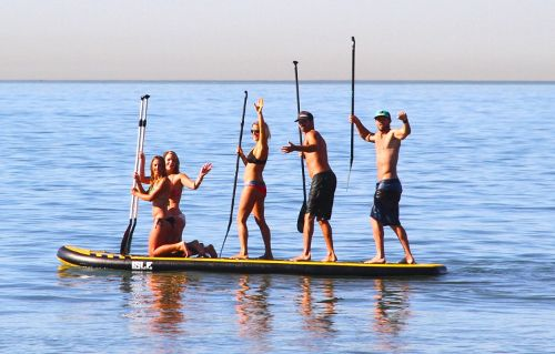 ISLE Airtech® 15ft Megalodon Inflatable SUP Review 3