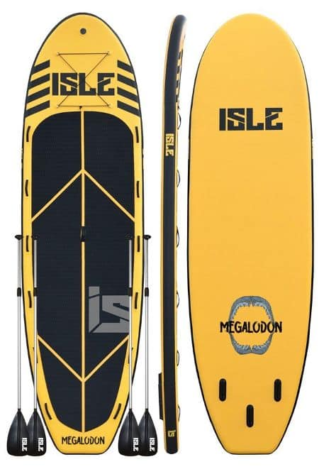 ISLE Airtech® 15' Megalodon Multi Person Supersize Inflatable Stand Up Paddle Board Review