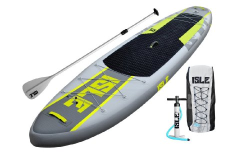 ISLE Explorer 11ft. Inflatable Stand Up Paddle Board Review 2