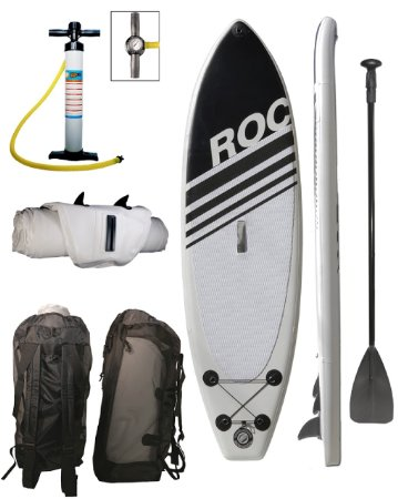 """Roc 10' 6"""" Inflatable stand up paddle board review"""