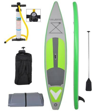 "Vilano 12' 6"" Inflatable Touring-Race Stand up Paddle Board Review"