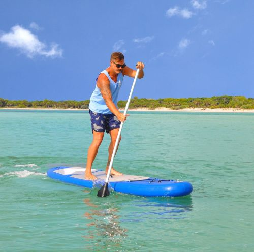 Vilano Navigator 10' inflatable stand up paddle board review 2