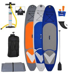 Vilano Navigator 10' inflatable stand up paddle board review