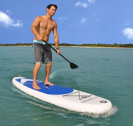 Vilano Navigator inflatable stand up paddle board review 3