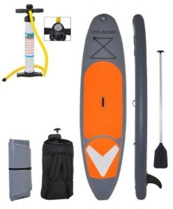 Vilano Navigator 10' inflatable stand up paddle board review 5