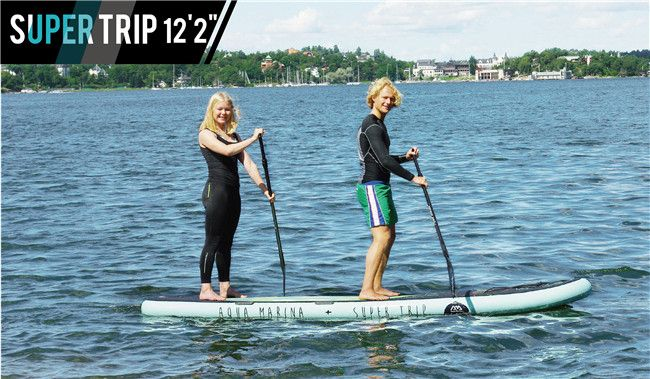 Aqua Marina Super Trip inflatable SUP Board Review