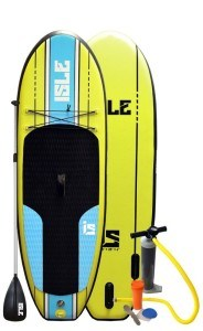 "ISLE Airtech® 7'6"" Inflatable Stand up Paddle Board Review"