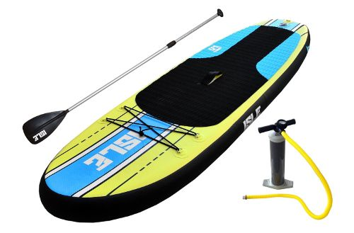 "ISLE Airtech 7'6"" Inflatable Stand up Paddle Board Review"