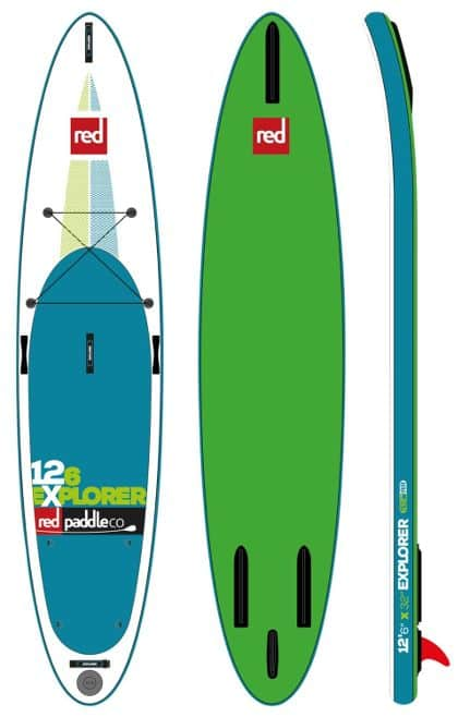 Red Paddle Co EXPLORER 12ft 6in inflatable SUP Board Review