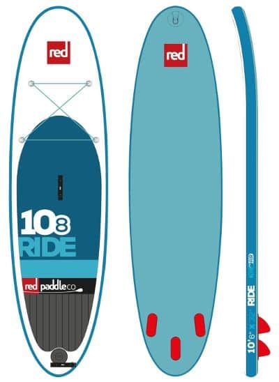 Red Paddle Co RIDE 10 8 inflatable SUP Board