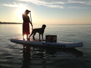 Tower Xplorer inflatable sup board weight load