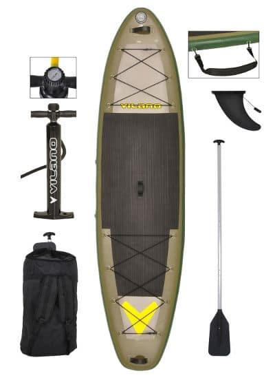 Vilano Sport Fishing Inflatable SUP Board Review