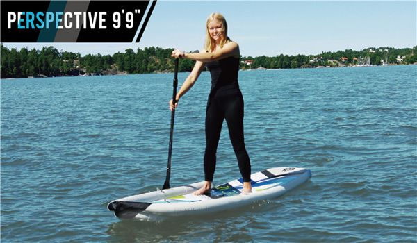 aqua marina perspective inflatable SUP Board