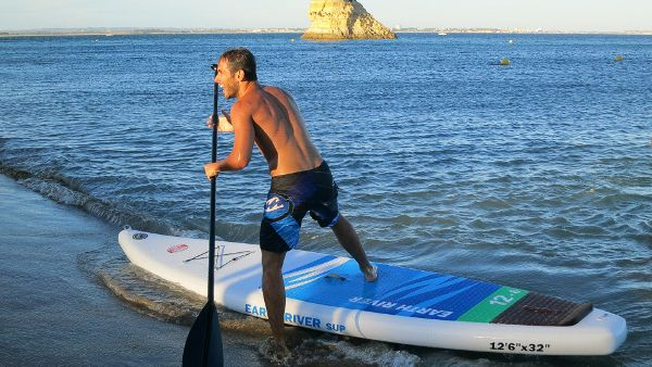 "earth river 12'6"" inflatable SUP Board Review"