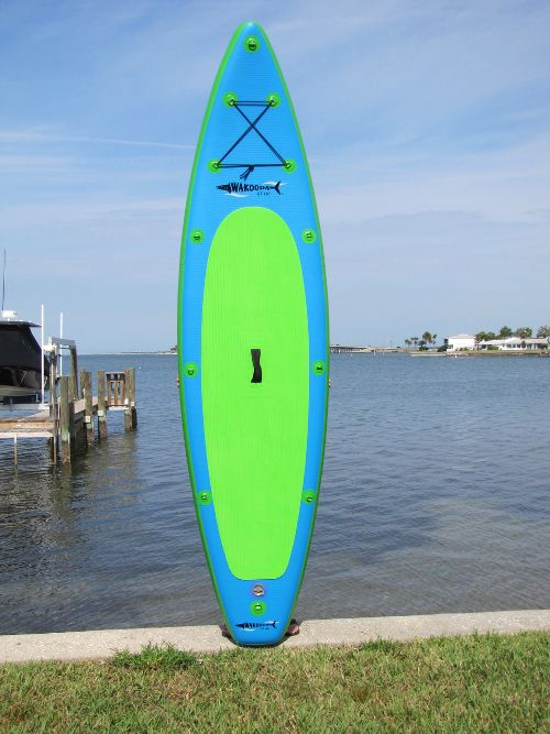 "Wakooda GT126 Grand Touring 10'6"" inflatable SUP board Review"