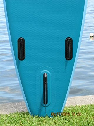 Wakooda Gt126 Grand Touring inflatable Stand up Paddle Board - fins