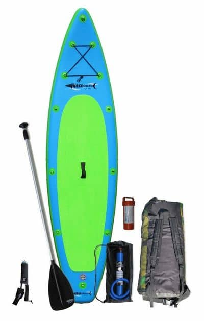 Wakooda Gt126 inflatable SUP Board Review
